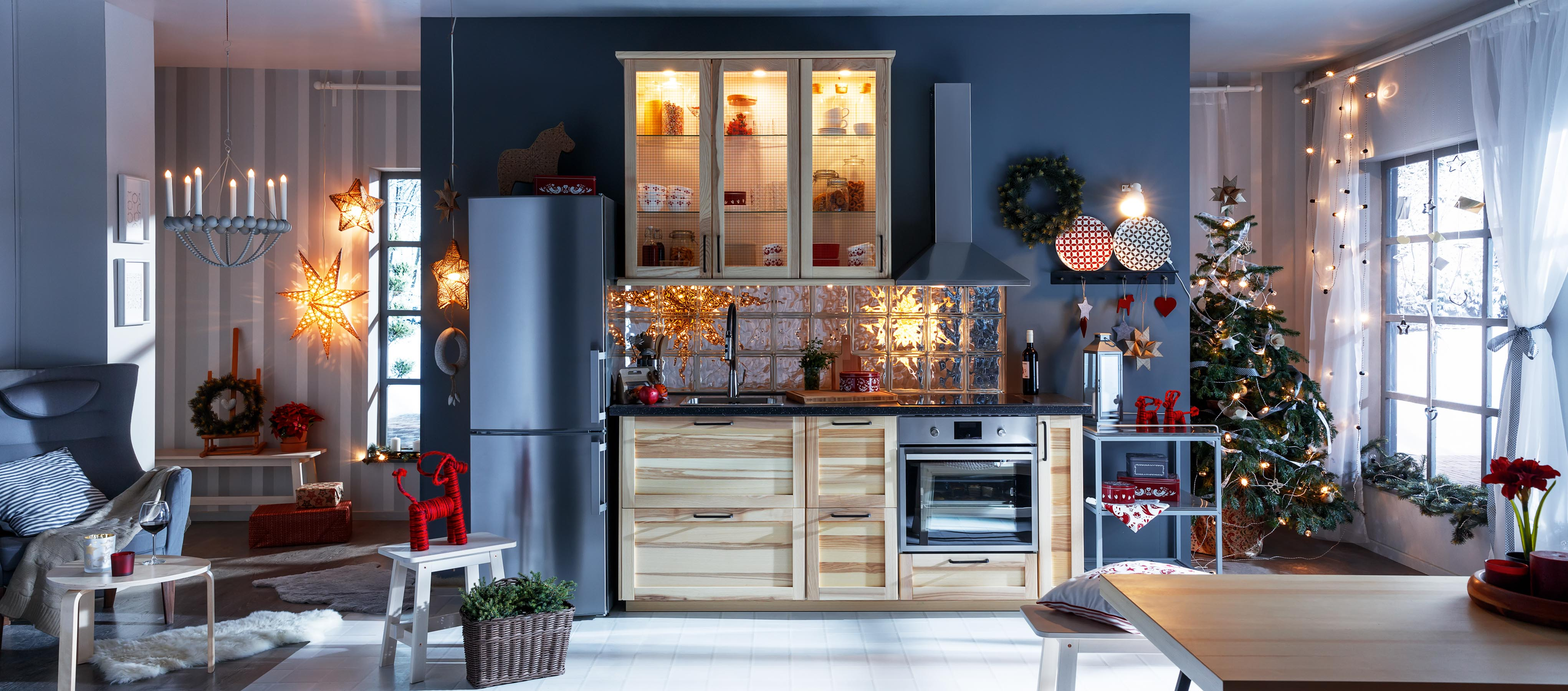 Ikea Kitchen Christmas 5